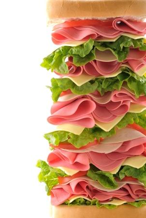 テキストのスペースをトリミング大きなサンドイッチ