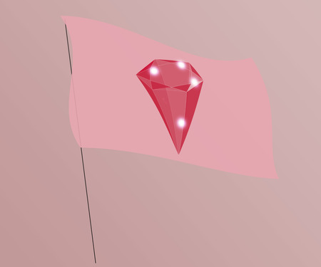 next year: Unassuming flag with the image of pretentious gem. Suitable for articles about that, the banner under which the gem will ... fashion jewelry next year, or horoscope associated with a stone or something else like that.