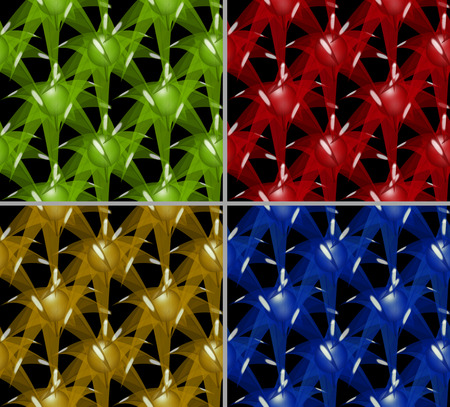 starlike: This is the background. This is a seamless texture. It is laid out of eight-pointed stars. Stock Photo