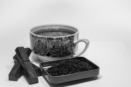 초콜릿 차