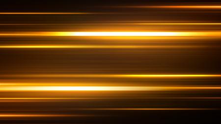 夜間道路の加速速度モーション。暗い背景の上に速く移動する光とストライプ。抽象的なカラフルなイラスト。 写真素材 - 97637305