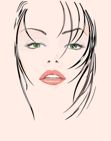handwork: vector, drawing-line,elegance, handwork