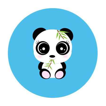 cute bear: Cute panda Illustration