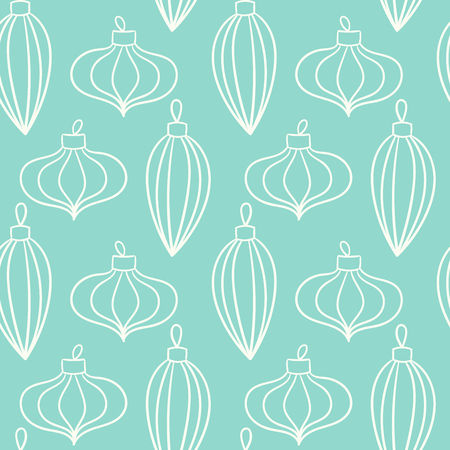 Christmas related elements pattern.