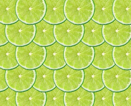 many  slices of lime as a background photo