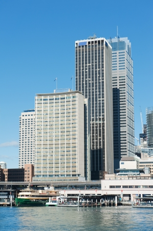 skyline of Sydney with city central business district at the noon Stock Photo - 16731363