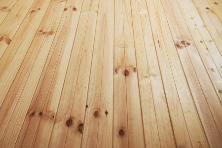 floor covering: fragment of new rural wooden floor without covering Stock Photo