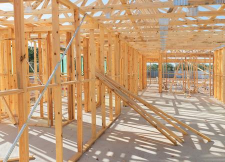 집 현재 푸른 하늘에 대하여 건설