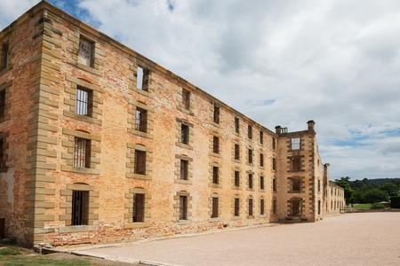 オーストラリア、タスマニア州のポートアーサーにある刑務所の建物です。