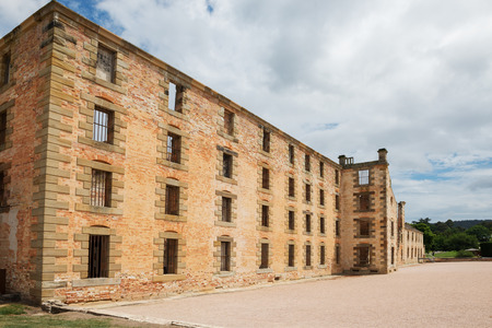 The penitentiary building at Port Arthur in Tasmania, Australia.Port Arthur Historic Site.