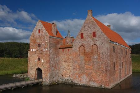 Medieval Spottrup castle, Denmark Editorial