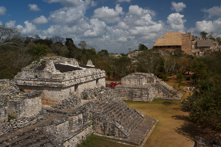 Ek' Balam is a Yucatec-Maya archaeological site within the municipality of Temozon, Yucatán, Mexico.