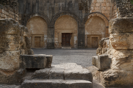 Ruins of the ancient Jewish city of Beit Shearim, Israel