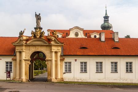 Brevnov monastery in Prague, Czech Republic