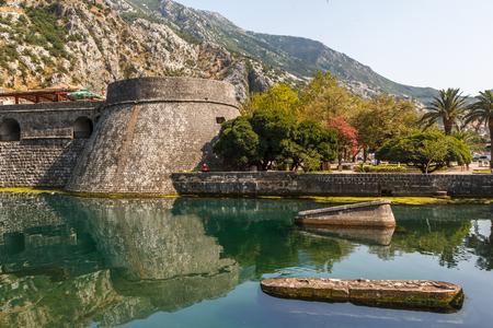 Fortification walls of Kotor, Montenegro Stock Photo
