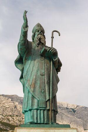 Monument in Baska Voda, Croatia