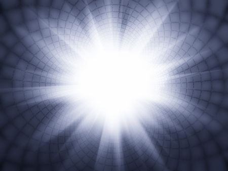 Shiny background with sun rays Stock Photo - 4786955