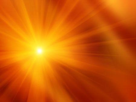 Orange smooth background - sunshine