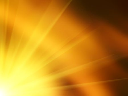Shiny background with sun rays