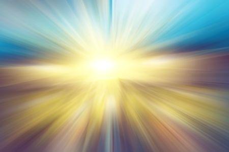 Bright shiny background - sunbeams Stock Photo - 5077713