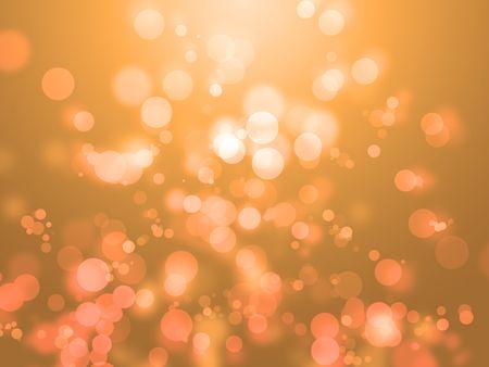 Bright orange tone background with sparkles