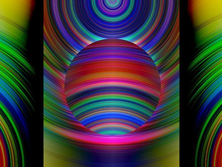 circulate: Bright abstract background Stock Photo