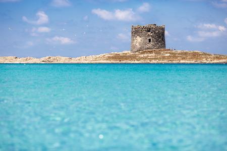 Sardinia Beach - La Pelosa, STINTINO, SARDINIA, ITALY Stock Photo - 31699888