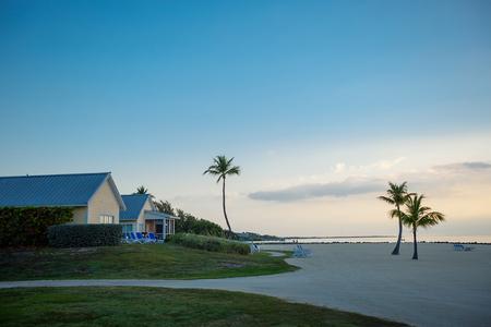 Mañana tranquila en Key Largo, Florida Foto de archivo - 87393716