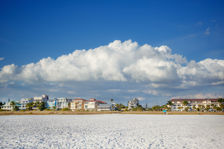 Lido Beach in Sarasota, Florida, on Siesta Key Stock Photo