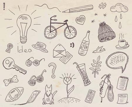 beautiful pattern with kids drawing illustrations