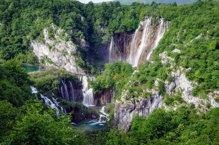 Wasserfall Veliki Slap Nationalpark Plitvicer Seen