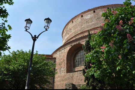 Rotonda of Galerius Thessaloniki Greece. Rotunda is one of the oldest religious sites of the city. Used both as a Christian temple for 1200 years, it was converted into a mosque during Ottoman reign.