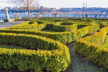 Stockholm Sweden Europe Garden Maze
