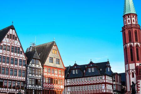Frankfurt Deutschland, Historischer Römerberg Platz