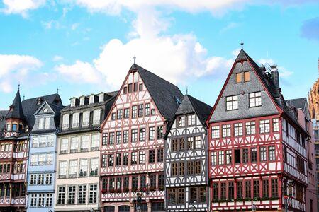 Frankfurt Germany, Historic Romerberg Square