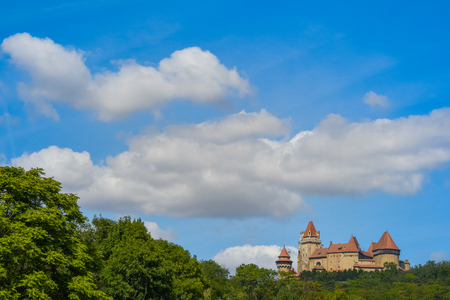 Burg Kreuzenstein, an almost fairy tale like castle near Vienna Austria