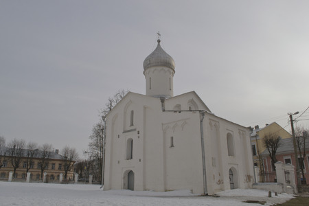 15th century: Orthodox Church of St. Sergius of Radonezh of the 15th century, Novgorod the Great, Russia