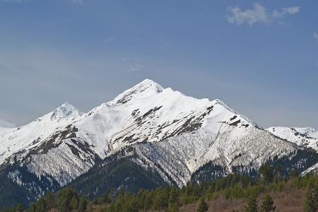 mestia: Snow-capped mountains, Mestia Georgia