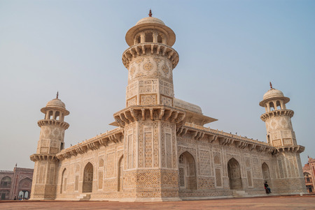 Itmad-ud-Daulas Tomb is a Mughal mausoleum. Editorial