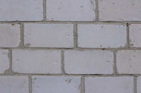 gray brick wall background texture block, surface, cement, construction Stock Photo