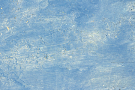 copyspace background texture blue paint with stains and popping in some places