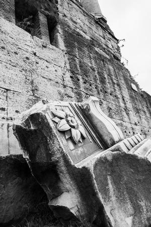 remains: Roman remains Stock Photo