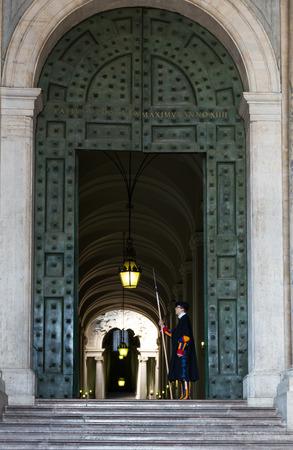 gaurd: Vatican guards