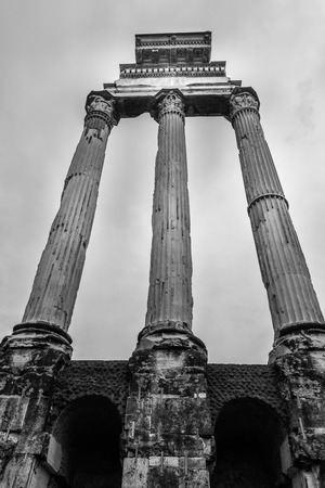 castor: Temple of Castor and Pollux