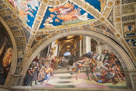 vatican: Raphael Rooms - Vatican
