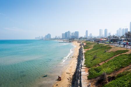 Tel Aviv cityscape Stock Photo