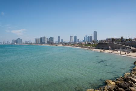 yaffo: Tel Aviv cityscape Stock Photo