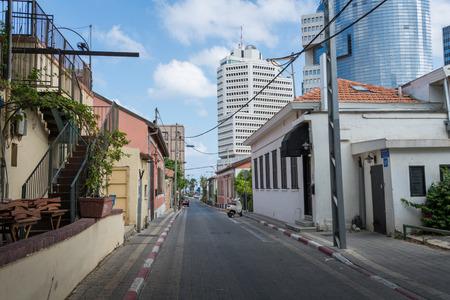 tel aviv: Neve Tzedek in Tel Aviv Editorial