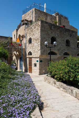 yafo: Old Jaffa alley