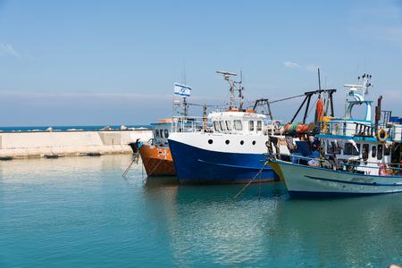 yaffo: Jaffa port, Israel